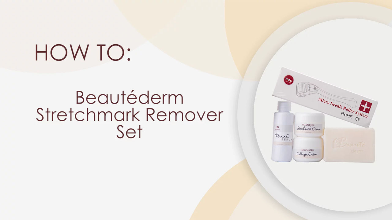 Beautéderm Stretchmark Remover Set