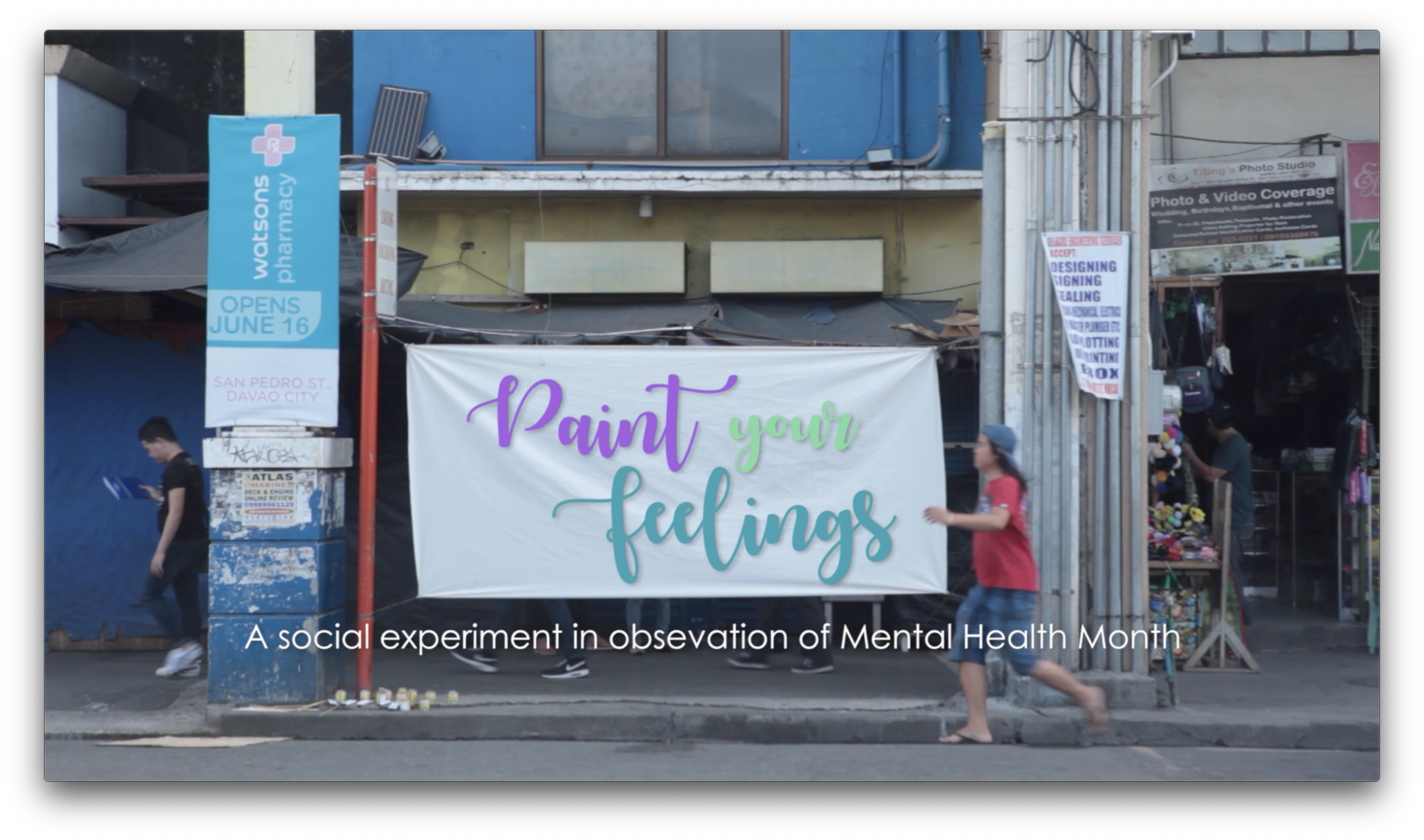 Paint Your Feelings – A Social Experiment